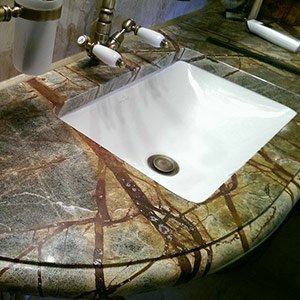 Столешницы для ванных
