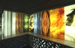 Оникс на стену с подсветкой